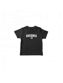 Bahamas Country Flag World Cup Baby T-Shirt