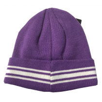 Real Madrid Adult's Beanie Purple-White
