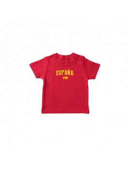 Spain World Cup Baby Soccer T-Shirt