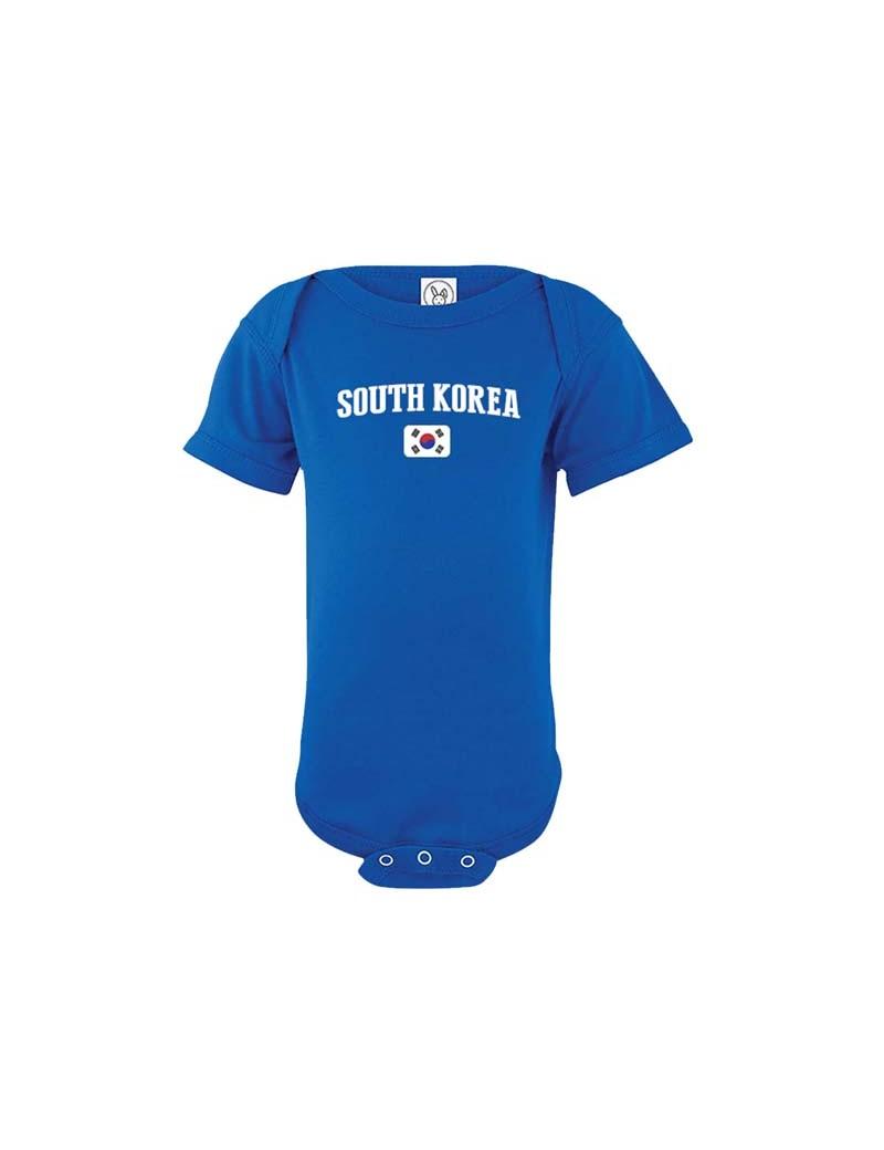 51b07e7e540 South Korea World Cup Baby Soccer T-Shirt