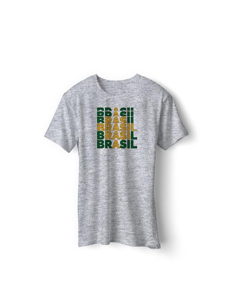 Brazil World Cup Retro Men's Soccer T-Shirt