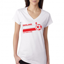 England Women's V Neck Tee...