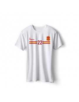 Spain World Cup Retro Men's Soccer T-Shirt