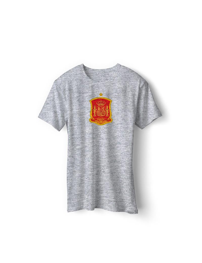 Spain World Cup Retro Men's Soccer T-Shirt