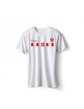 Peru World Cup Retro Men's Soccer T-Shirt