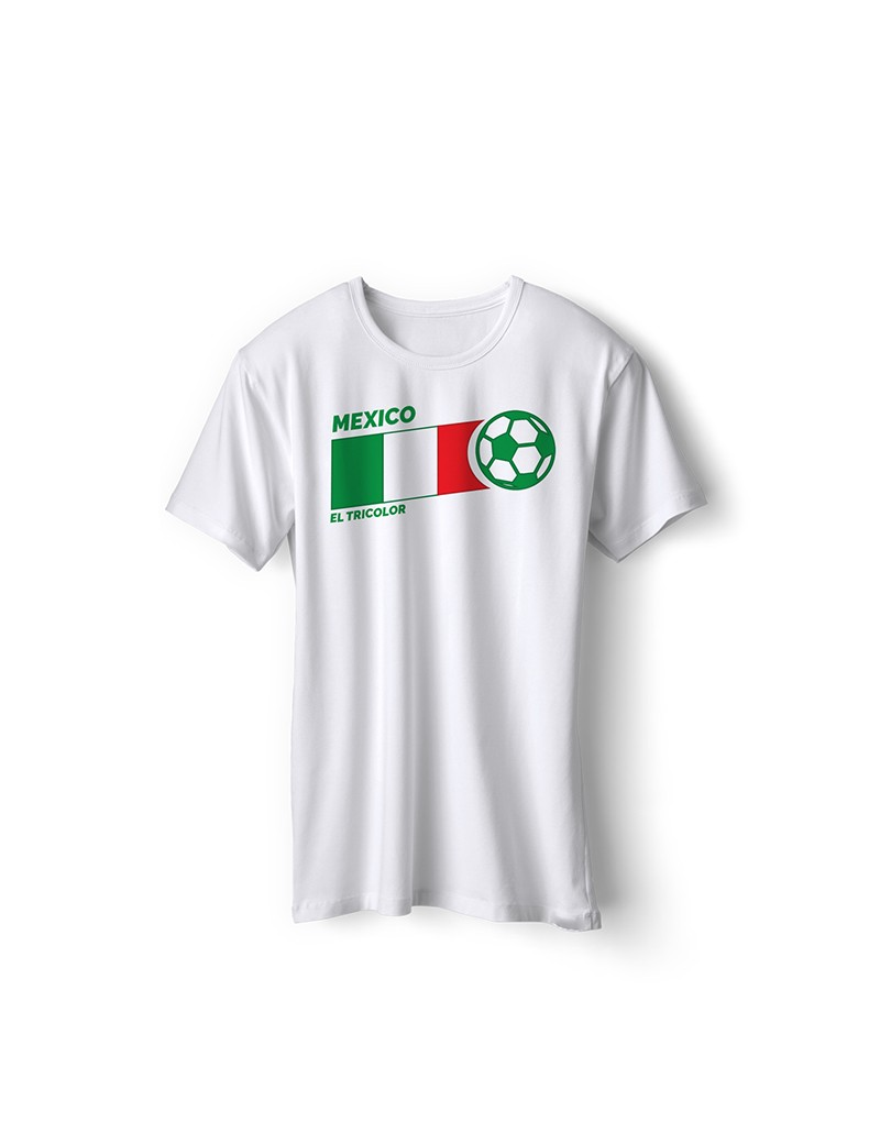Mexico World Cup Retro Men's Soccer T-Shirt