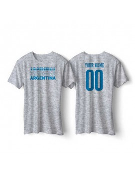 Argentina World Cup Retro Men's Soccer T-Shirt