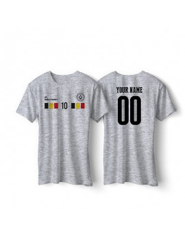 Belgium World Cup Retro Men's Soccer T-Shirt
