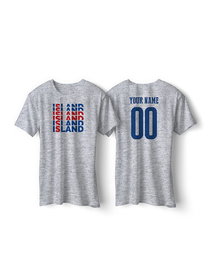 Island World Cup Retro Men's Soccer T-Shirt