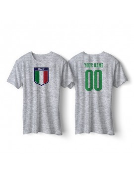 Italy World Cup Retro Men's Soccer T-Shirt