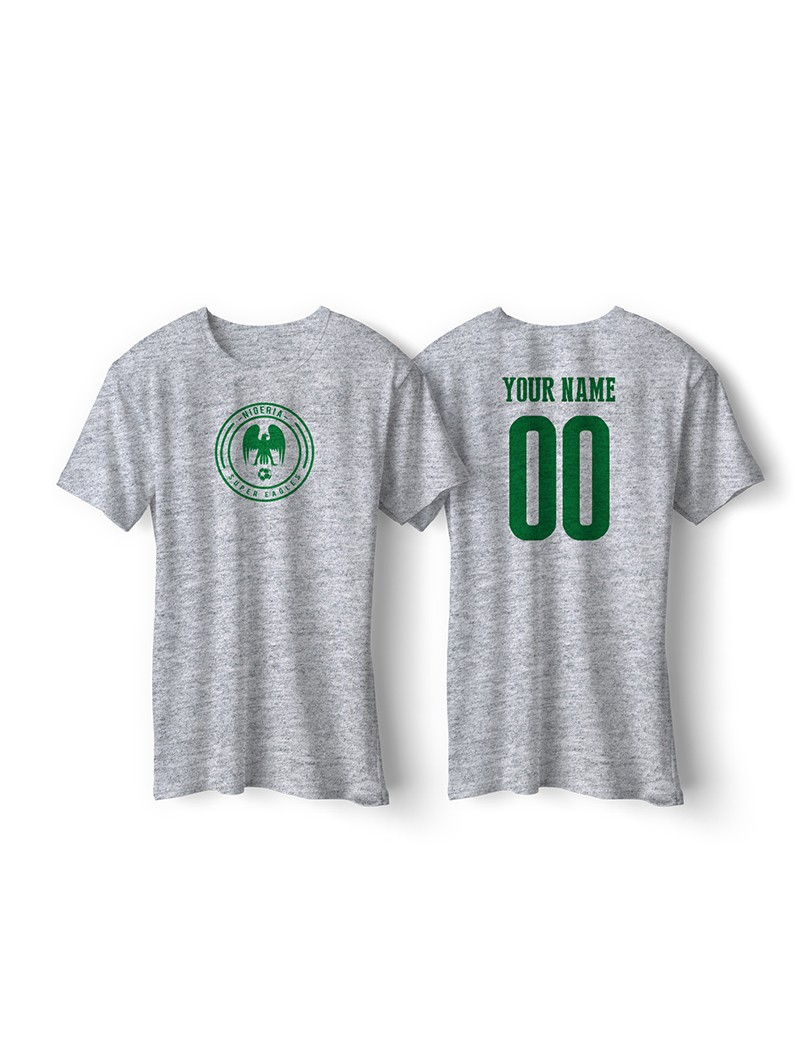3b7d4b8c0 Nigeria World Cup Retro Men s Soccer T-Shirt