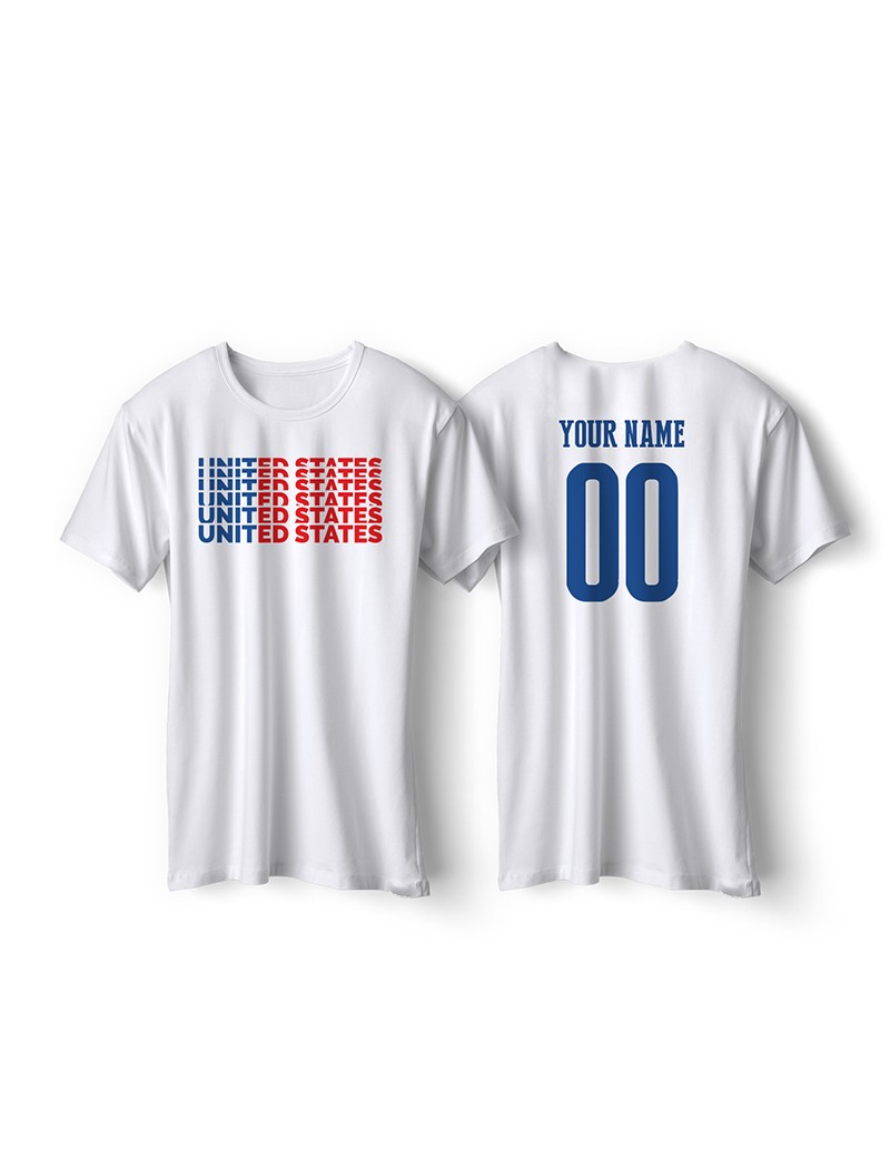 United States World Cup Retro Men's Soccer T-Shirt