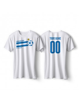 Uruguay World Cup Retro Men's Soccer T-Shirt