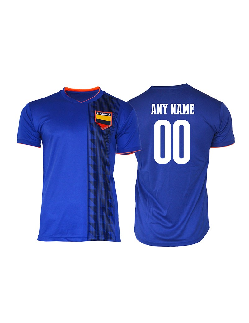Colombia World Cup Men s young and kids Soccer Jersey 766f1aeb3