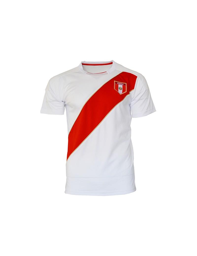 727a24557 Peru World Cup Retro Men s Soccer T-Shirt