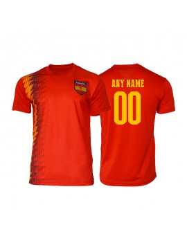 Spain World Cup Men's young and kids Soccer Jersey