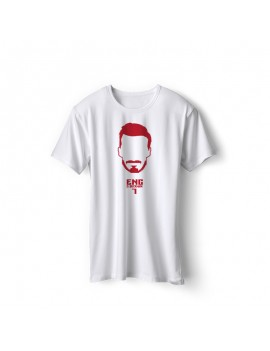 England Men's Soccer T-Shirt Player Beckham
