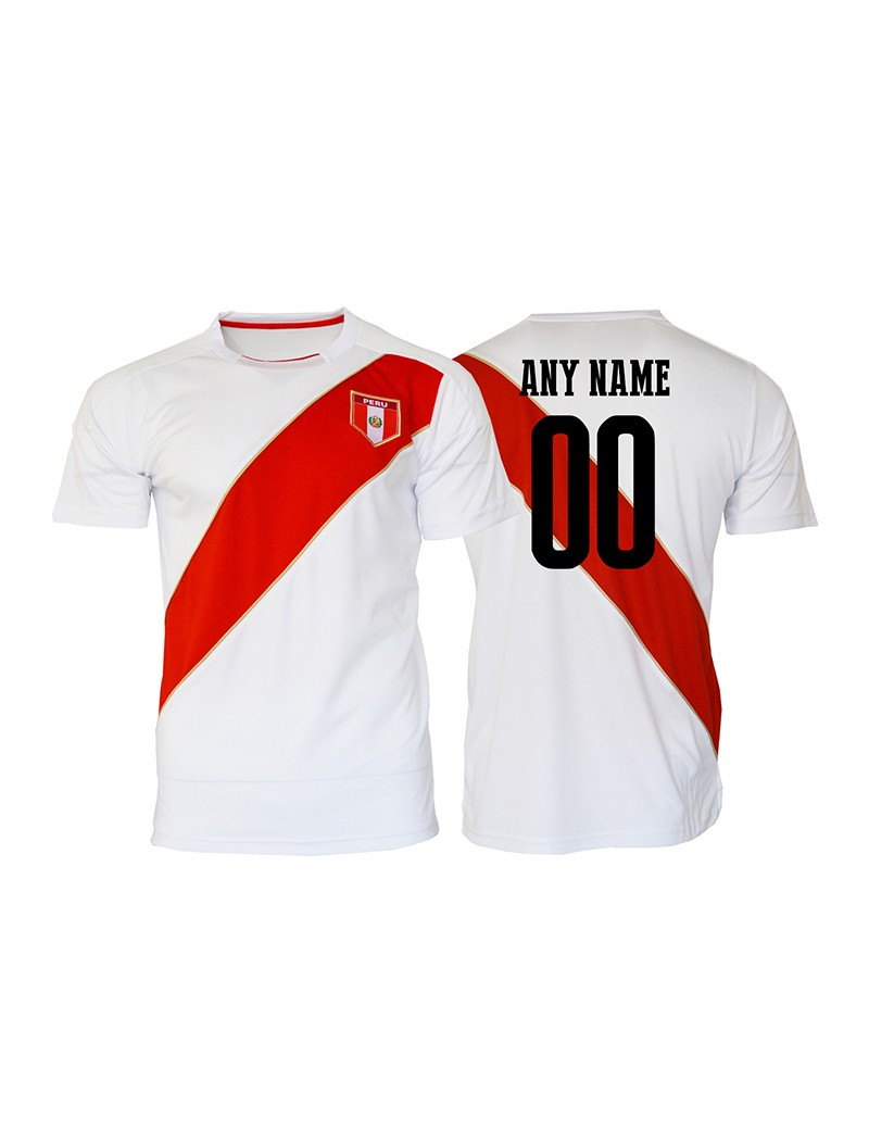 Peru World Cup Men's Soccer Jersey