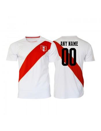 Peru World Cup Men's Soccer Jersey