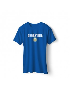 Argentina Men's Soccer T-Shirt world cup