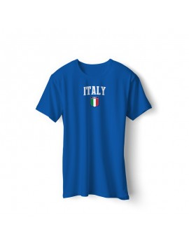 Italy Men's Soccer T-Shirt world cup