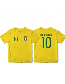 Brasil World Cup Baby Soccer T-Shirt