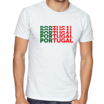 Portugal Men's Round Neck T...