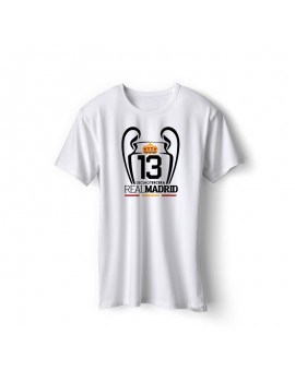 Real Madrid Men's Soccer T-Shirt k13