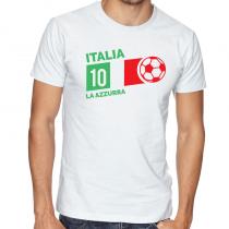 Italy Men's Round Neck T...