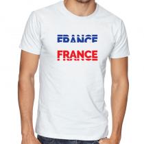 France Men's Round Neck T...