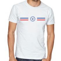 France  Men's Round Neck  T Shirt Jersey  Shield