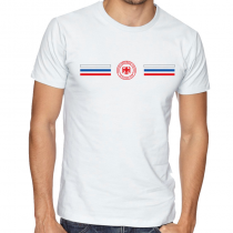 Russia Men's Round Neck  T Shirt Jersey  Shield