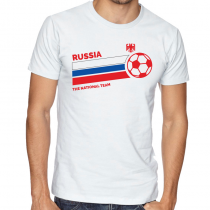 Russia Men's Round Neck T...