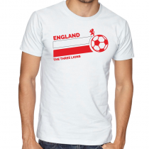 England Men's Round Neck T...