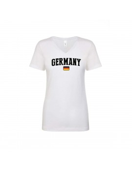 Germany  World Cup Women's V Neck T-Shirt