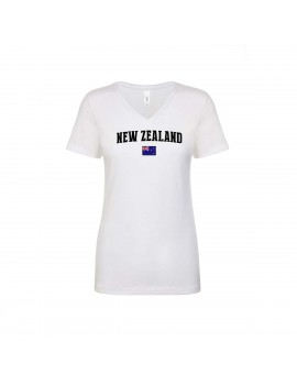 New Zealand World Cup Women's V Neck T-Shirt