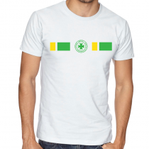 Brasil Men's Round Neck  T Shirt Jersey  shield