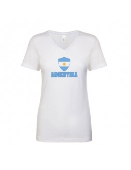 Argentina World Cup Center Shield Women's T-Shirt