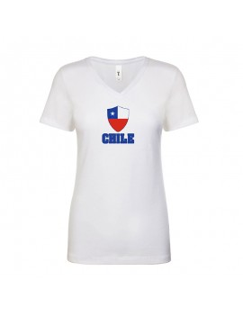 Chile World Cup Center Shield Women's T-Shirt