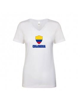 Colombia World Cup Center Shield Women's T-Shirt