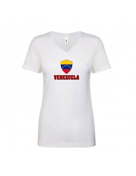Venezuela World Cup Center Shield Women's T-Shirt