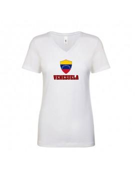 Venezuela World Cup Center Shield Women's T-Shirt