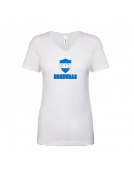 Honduras World Cup Center Shield Women's V-Neck