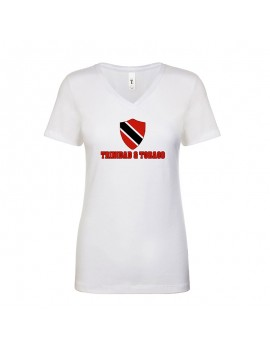 Trinidad & Tobago World Cup Center Shield Women's V-Neck