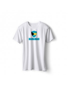 Bahamas World Cup Center Shield Men's T-Shirt