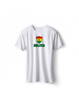Bolivia World Cup Center Shield Men's T-Shirt