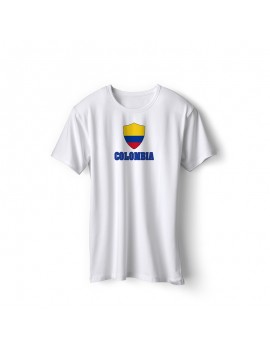 Colombia World Cup Center Shield Men's T-Shirt