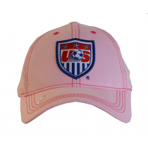 United States Adult's Cap Hat Pink Big Shield