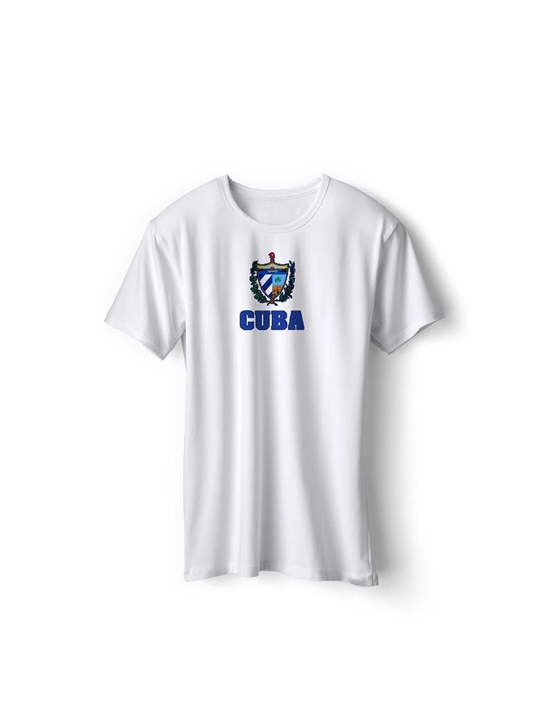 Cuba World Cup Center Shield Men's T-Shirt