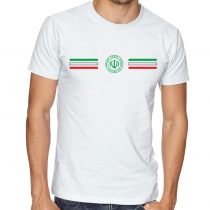 Iran  Men's Round Neck  T Shirt Jersey  Shield
